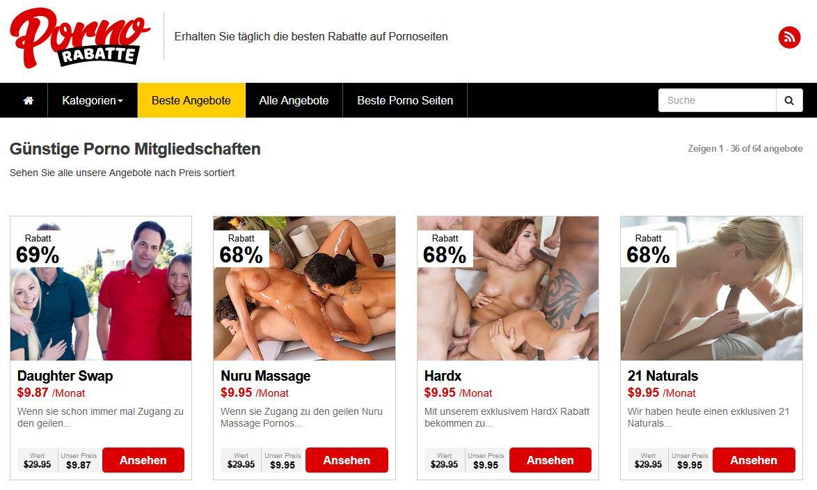 Porno Rabatte Com Mit Den Heissesten Rabatten Auf Pornoseiten Aus